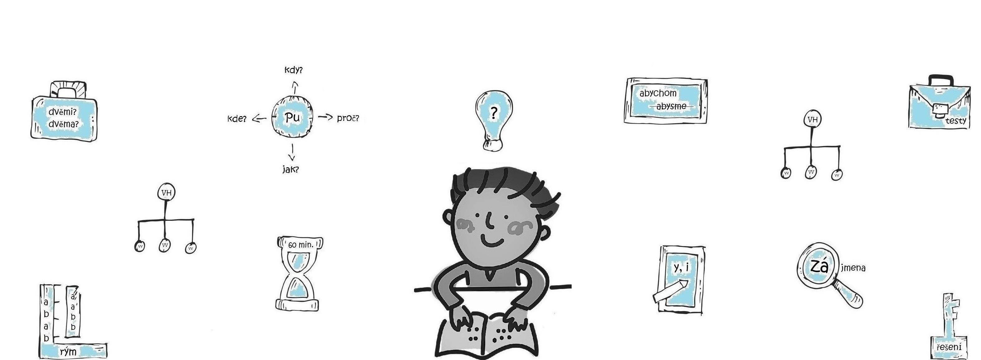 Český jazyk online pro žáky základních škol