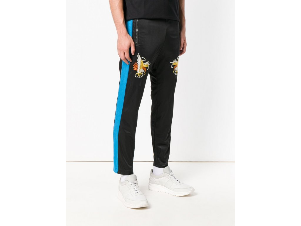 P RUSSY EMB TROUSERS
