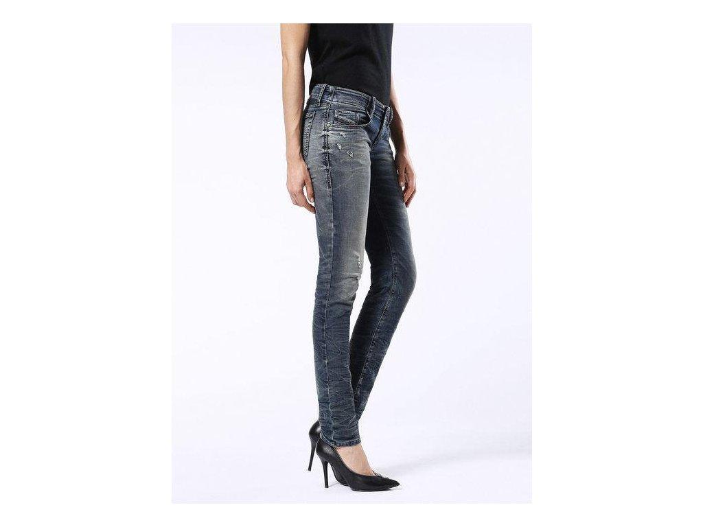 Diesel GRUPEE JOGGJEANS 0674X Skinny AW 16 Blue Jeans Women 529 5