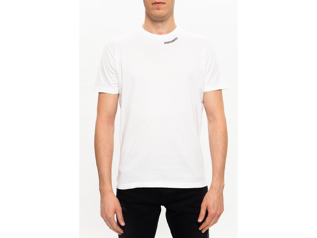 NECK LOGO DSQUARED2 TSHIRT