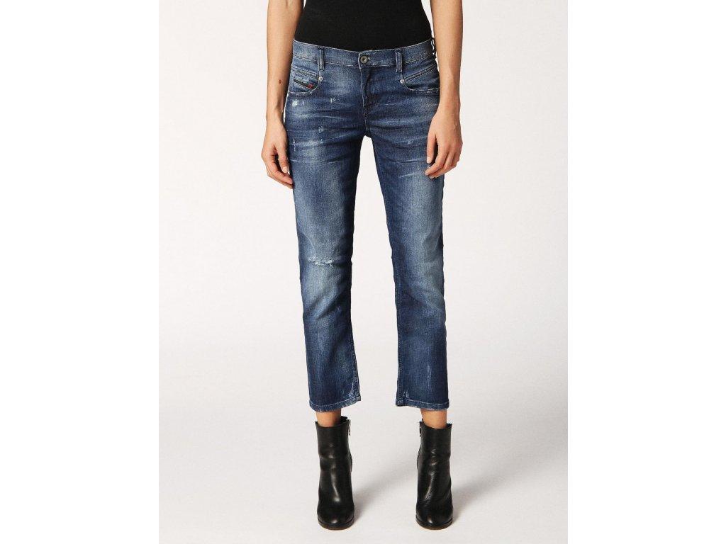 blue straight diesel belthy ankle 084mx womens blue jeans 1
