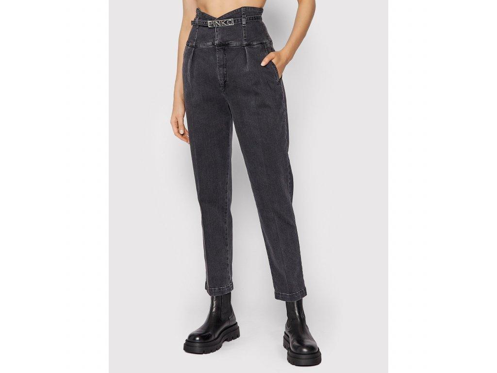 pinko jeansy ariel 1j10qr y6fg seda straight fit