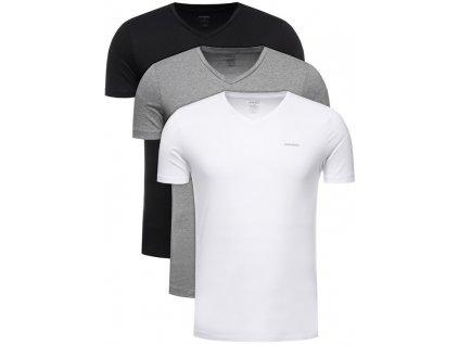 diesel 3 dilna sada t shirts umtee jake 00spdm 0aalw barevna regular fit