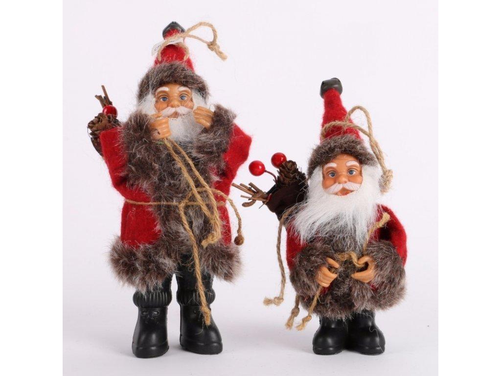 Santa Claus cerveny