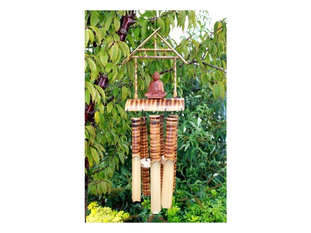 Bambusová Zvonkohra 6 Středních Trubic a Buddha