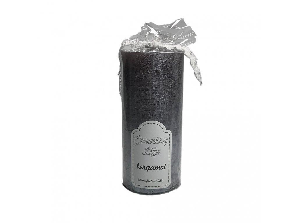 svíčka tuba bergamot