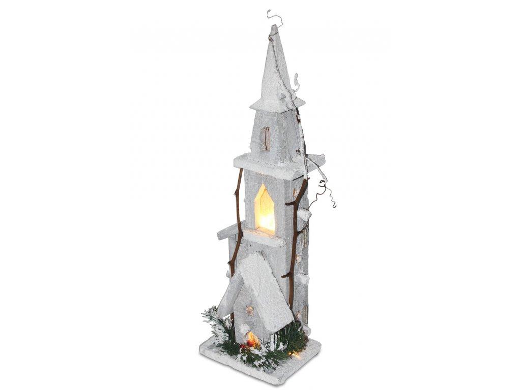 Věž svítící LED