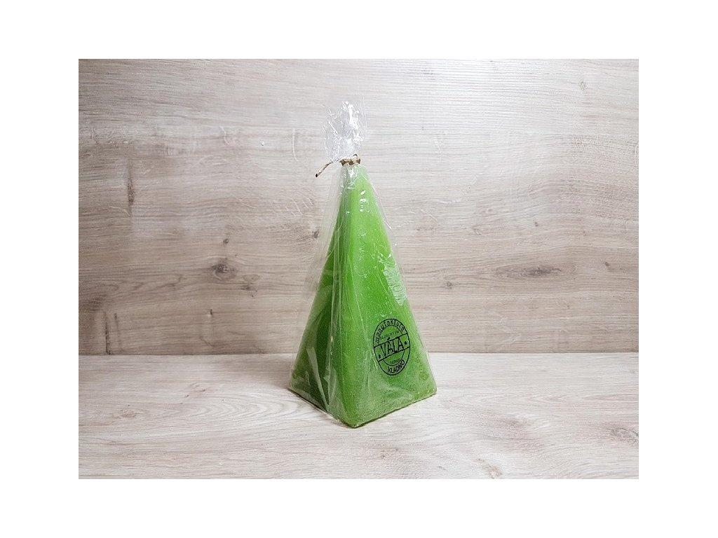 Pyramida zelená