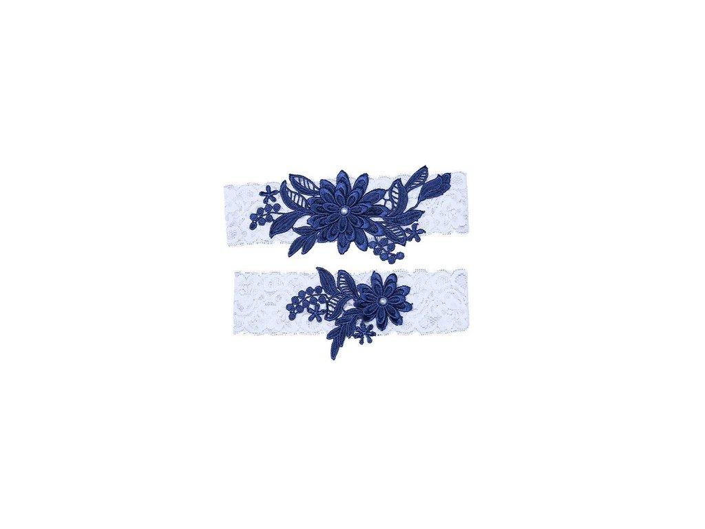 Kvetina tmave modra