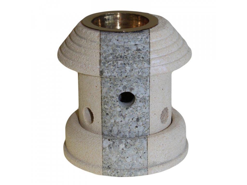 Kamenná Aroma Lampa Kombinovaná Lucerna