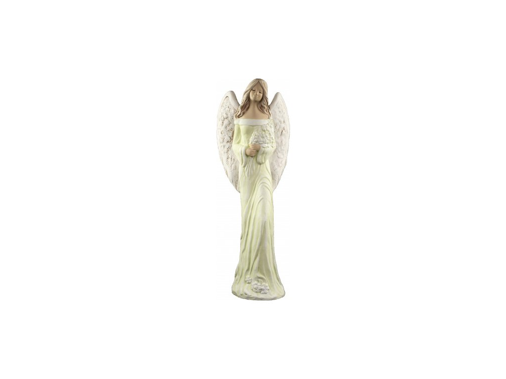 Anděl Alina zelená