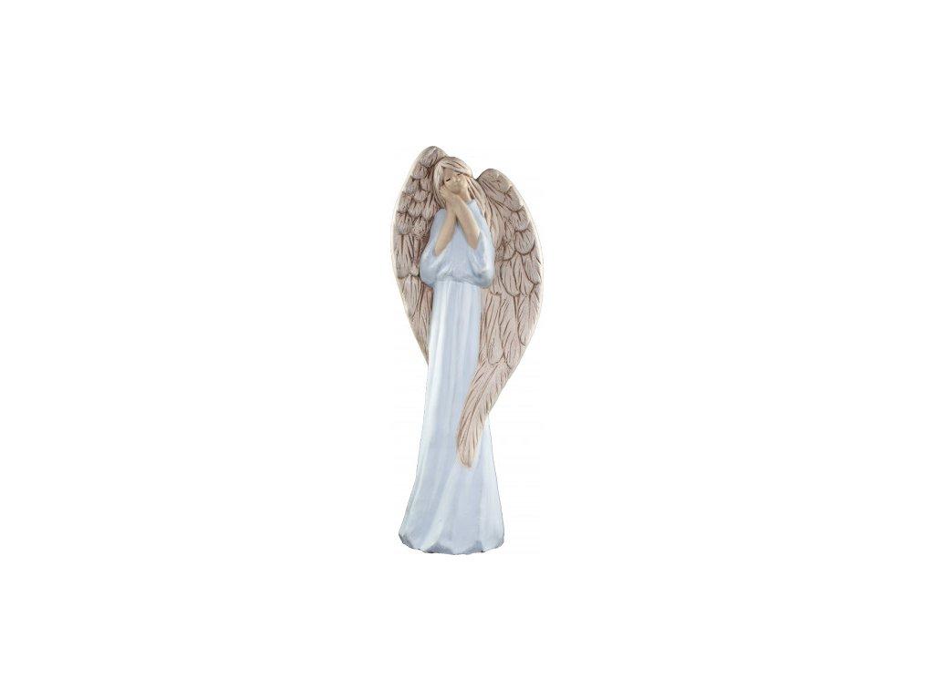 Anděl Agnes modrý