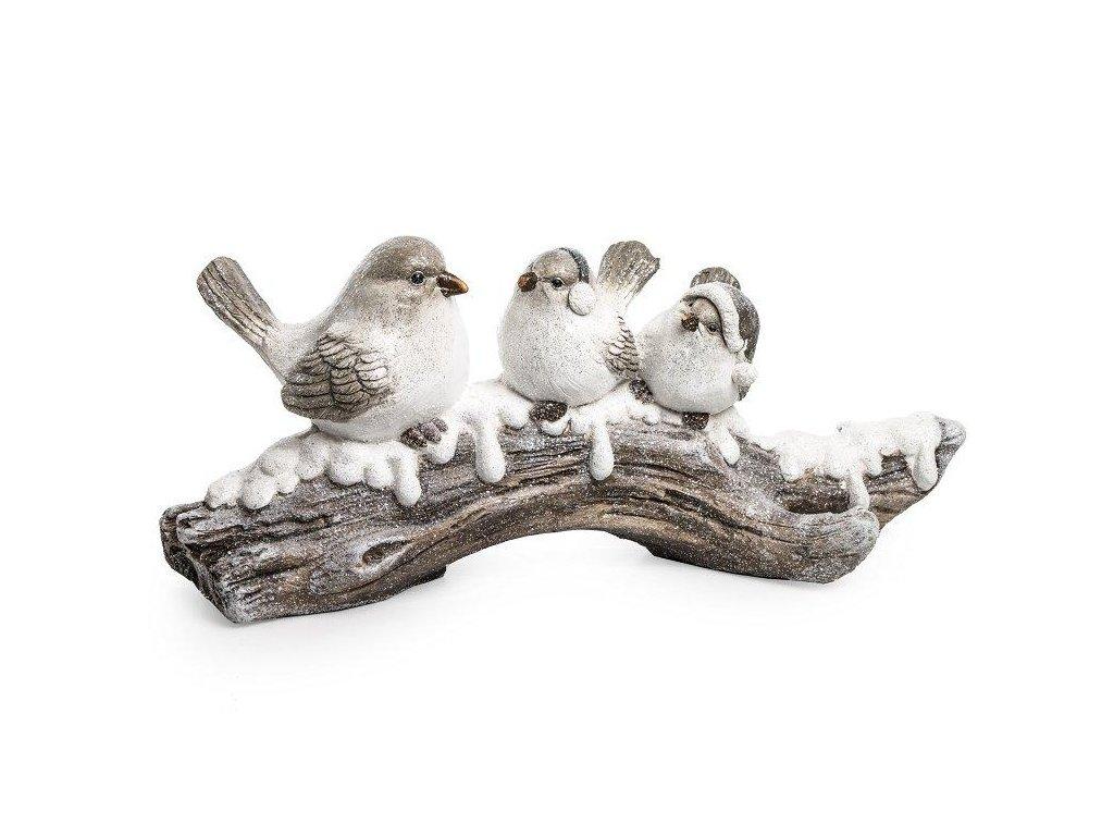 Ptáci na dřevě