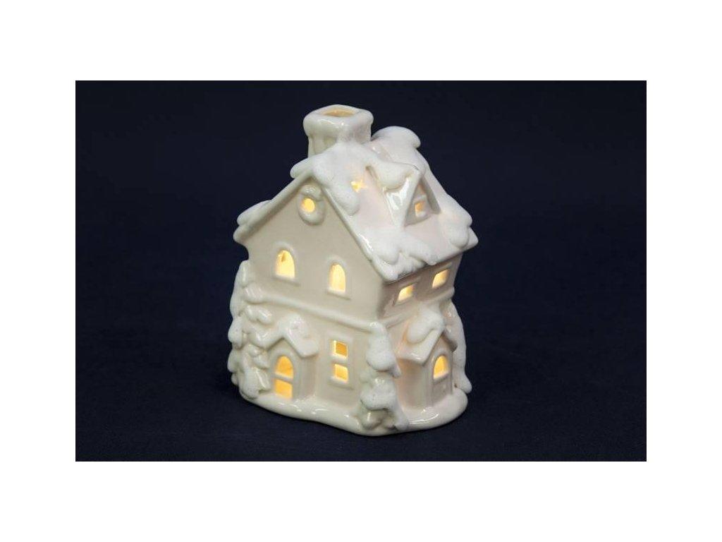 Domek porcelánový LED