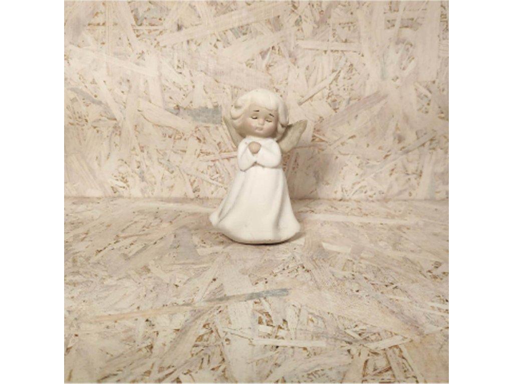 Anděl - modlící se 13cm