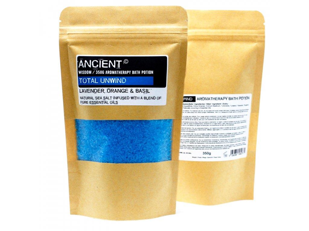 Aromaterapeutické Soli do Koupele v Sáčcích 350g Úplné Uvolnění