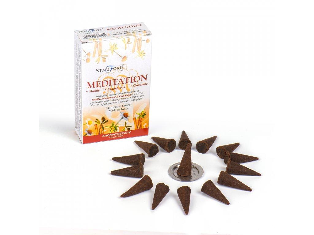 Vonné Kužele Meditace
