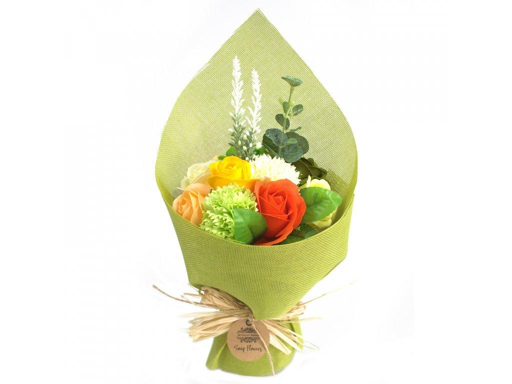 kytice zelena zluta