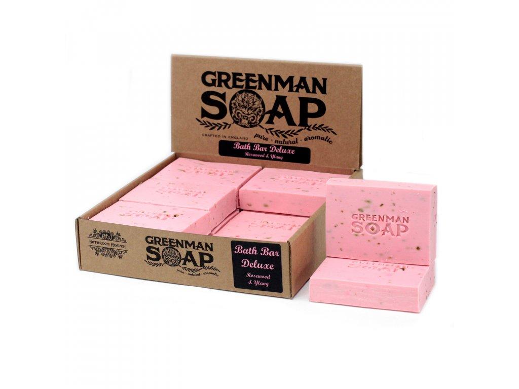 Greenman Mýdlo 100 g Koupelový Bar Deluxe