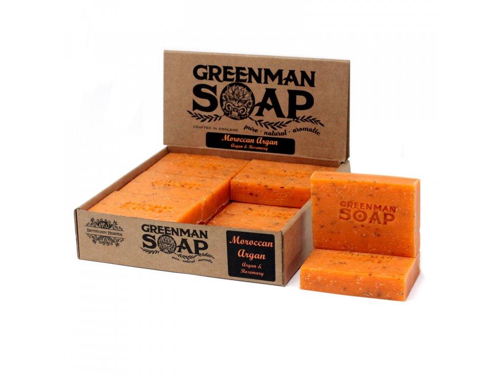 Greenman Mýdlo 100 g Zlatý Agar