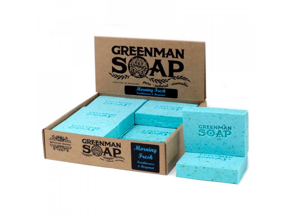 Greenman Mýdlo 100 g Ranní osvěžení
