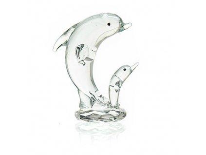 Křišťálový Dvojitý Delfín