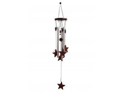Klasická Kovově Dřevěná Zvonkohra Hvězdy