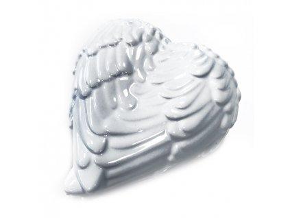 Šperkovnice Andělské Křídla Bílá