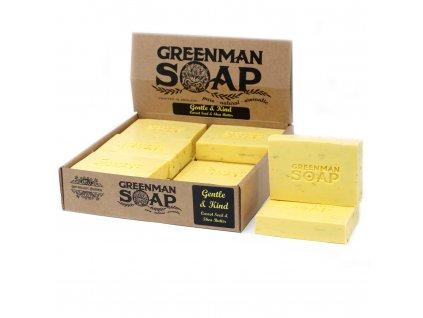 Greenman Mýdlo 100 g Jemný a Ňěžný