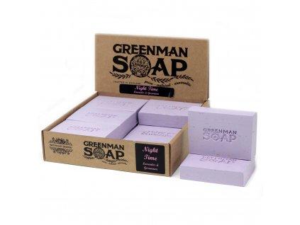 Greenman Mýdlo 100 g Noční
