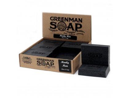 Greenman Mýdlo 100 g Mužně Mužský