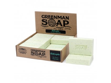 Greenman Mýdlo 100 g Antiseptický Útok