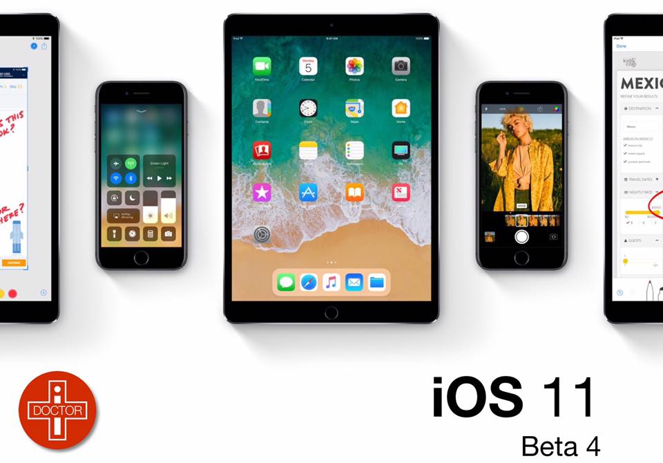 Apple včera večer vydal 4. betu iOS 11.1