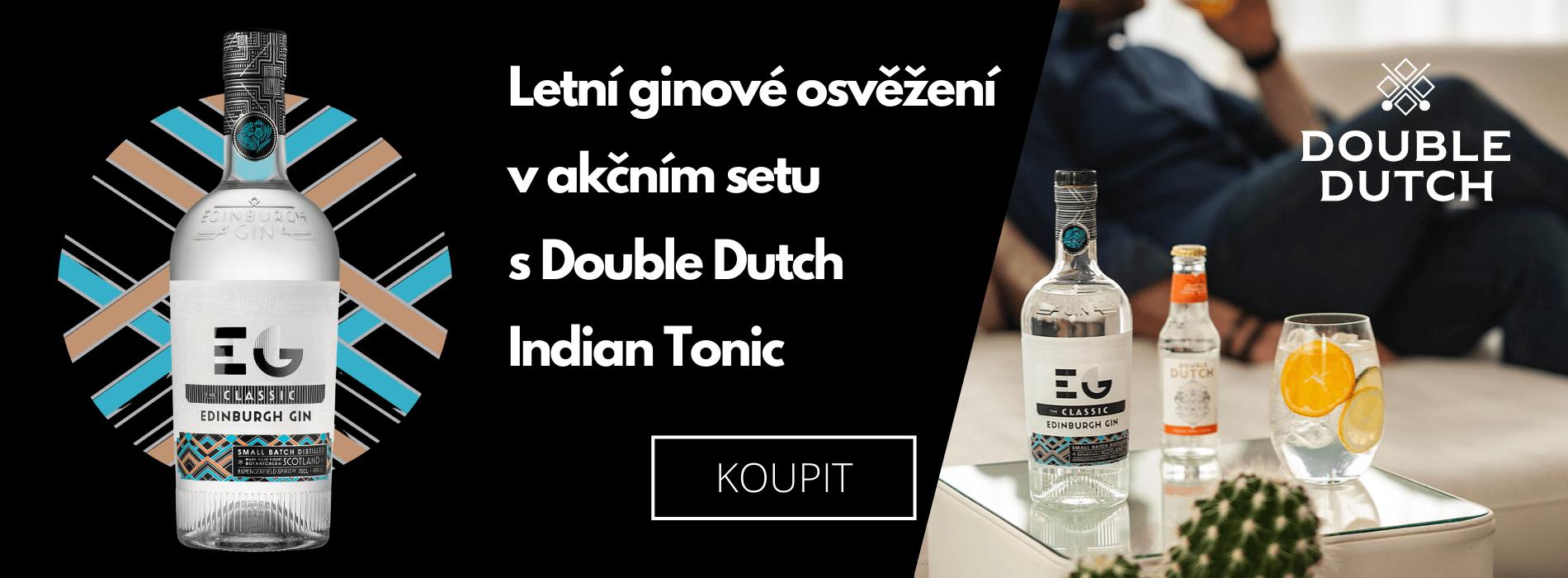 Letní ginové osvěžení v akčním setu s Double Dutch Indian Tonic