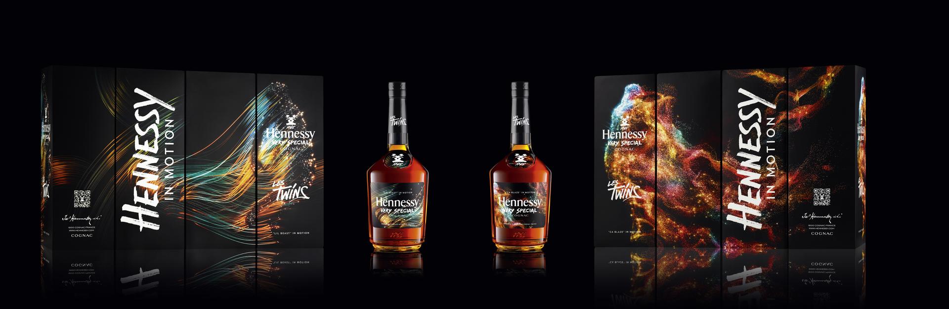 Limitovaná edice Hennessy Les Twins