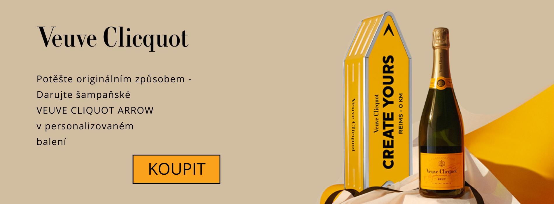 Potěšte originálním způsobem - Veuve Cliquot  v personalizovaném balení