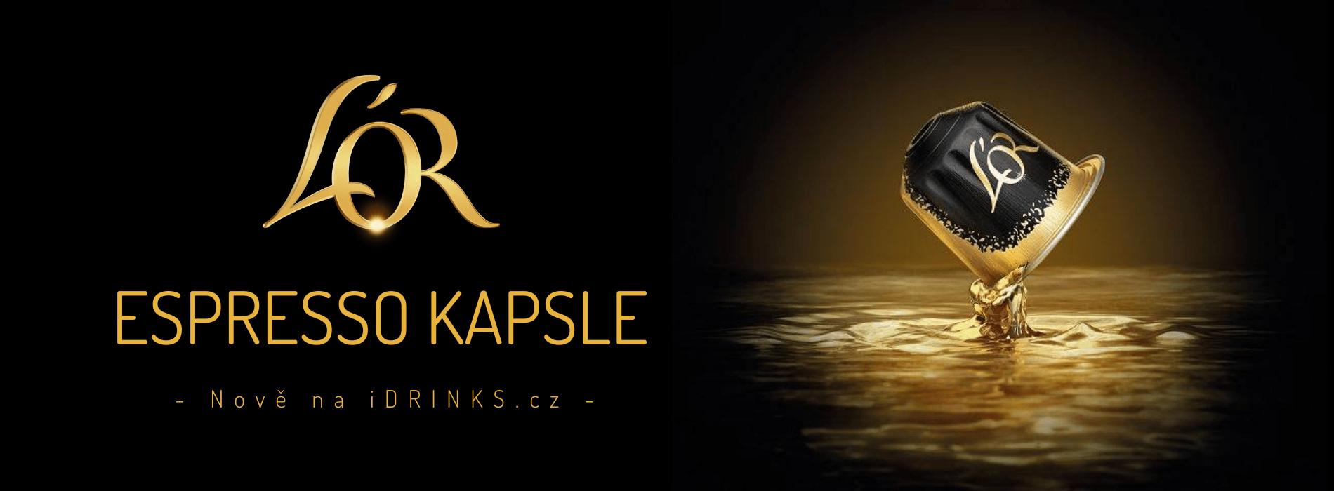 Nově na iDRINKS.cz Kapsle L'OR