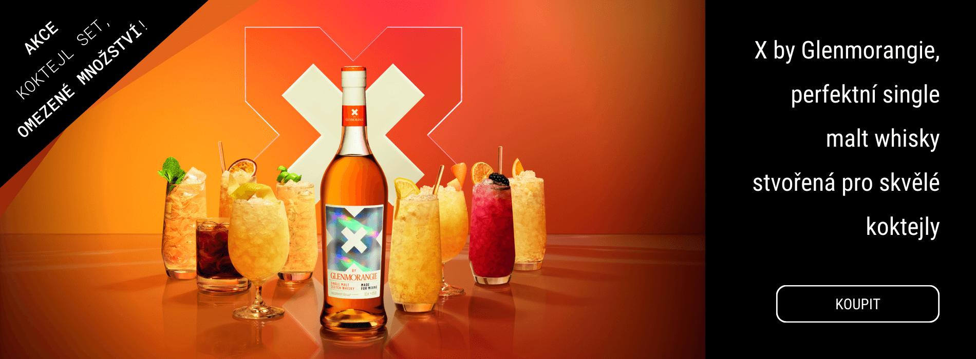 X by Glenmorangie, perfektní pro skvělé koktejly