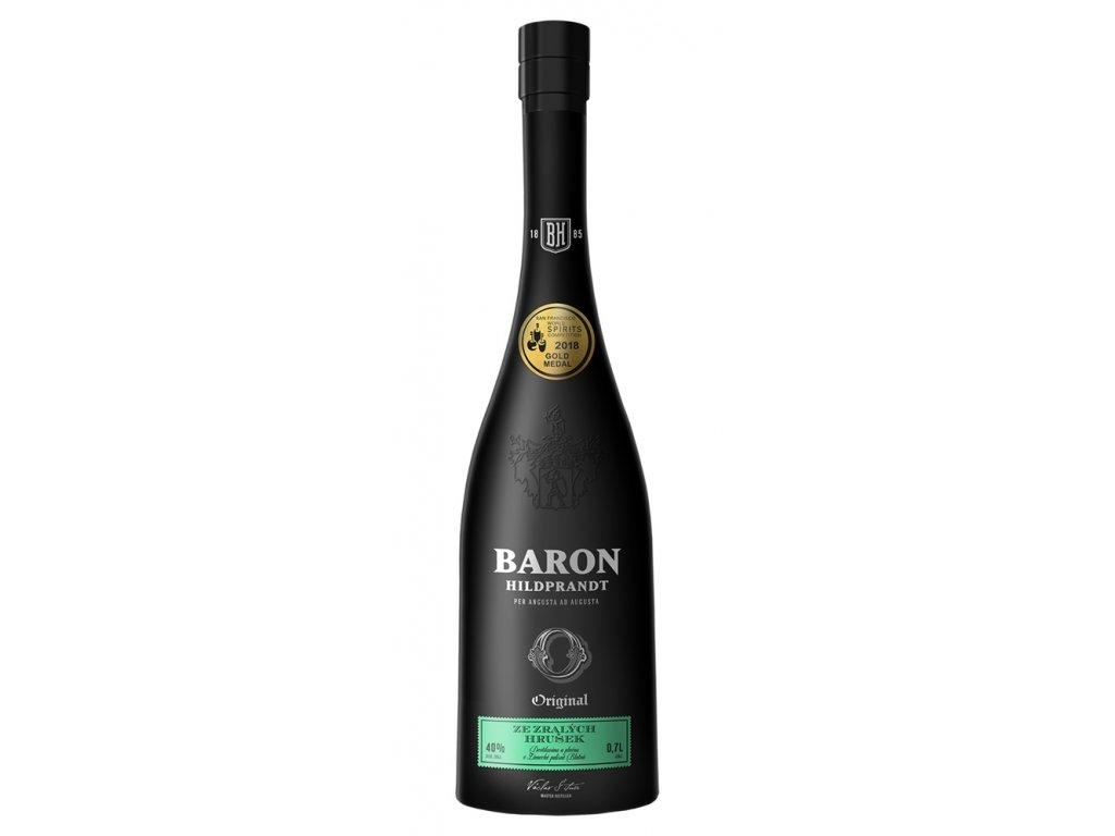 Baron Hildprandt Ze zralých hrušek 0,7 l 40%