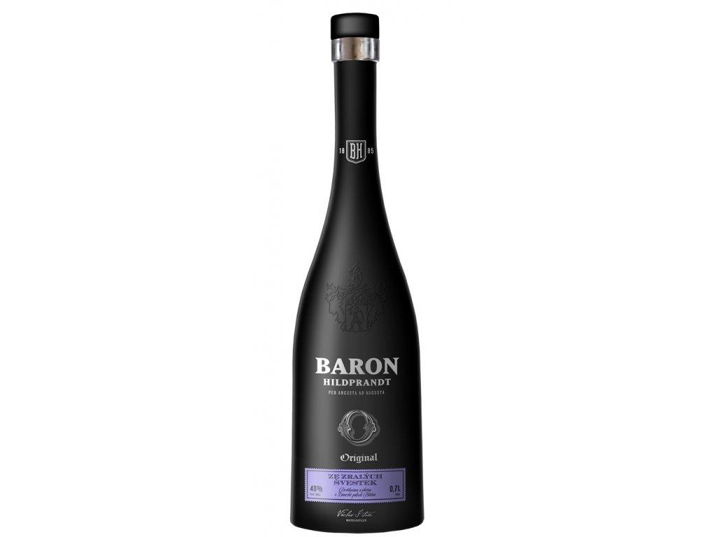 Baron Hildprandt Ze zralých švestek 0,7 l 40%