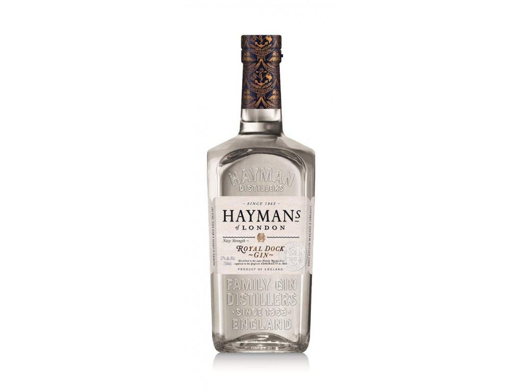 Hayman's Gin Hayman's Royal Dock Navy Strength 0,7 l 57,5%