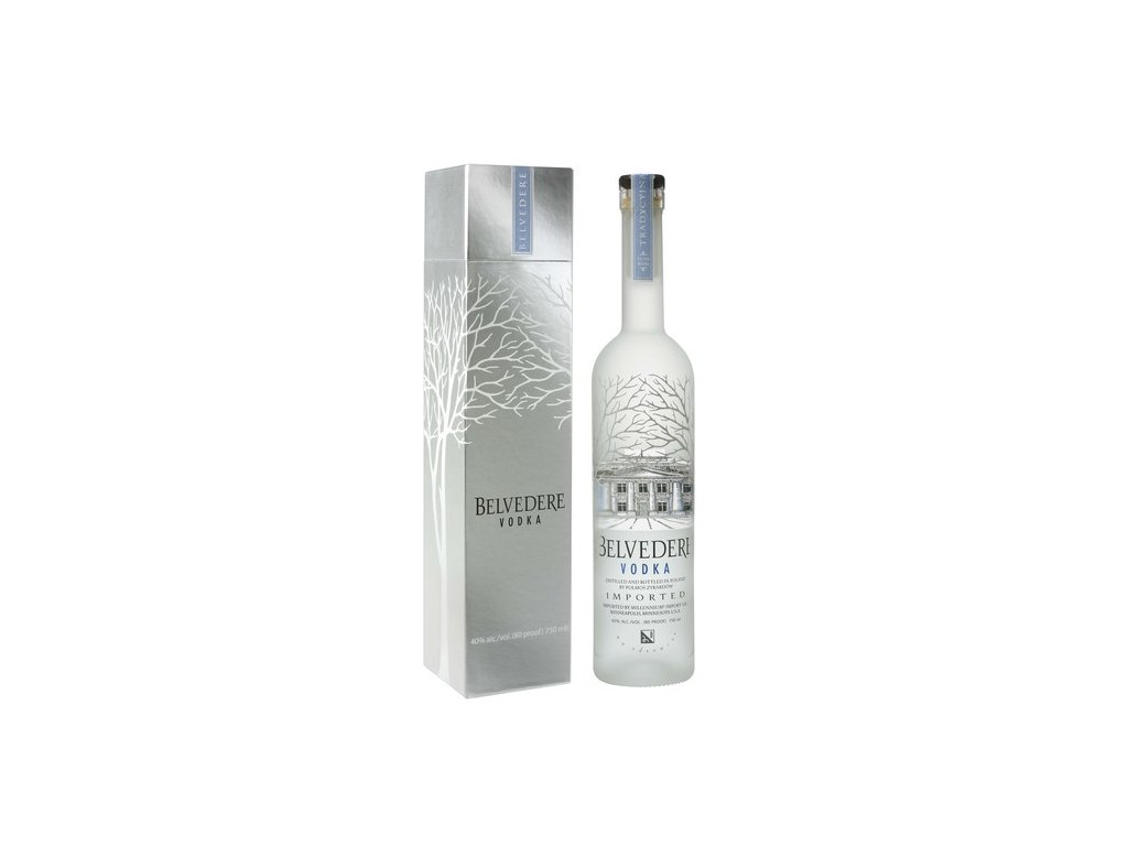 10 belvedere vodka giftbox 0 7l 40