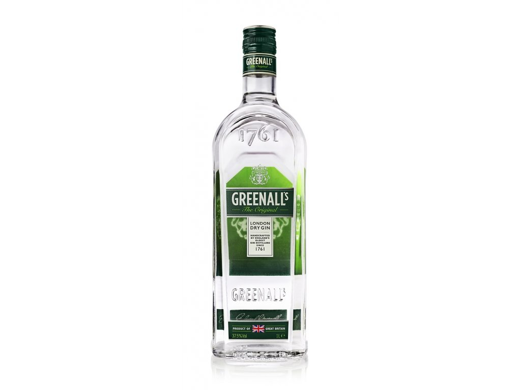 Greenall's Original London Dry Gin, 1 l 37,5%