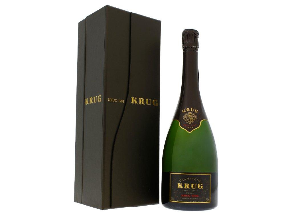 Krug Brut Millesime bottle and box 1996