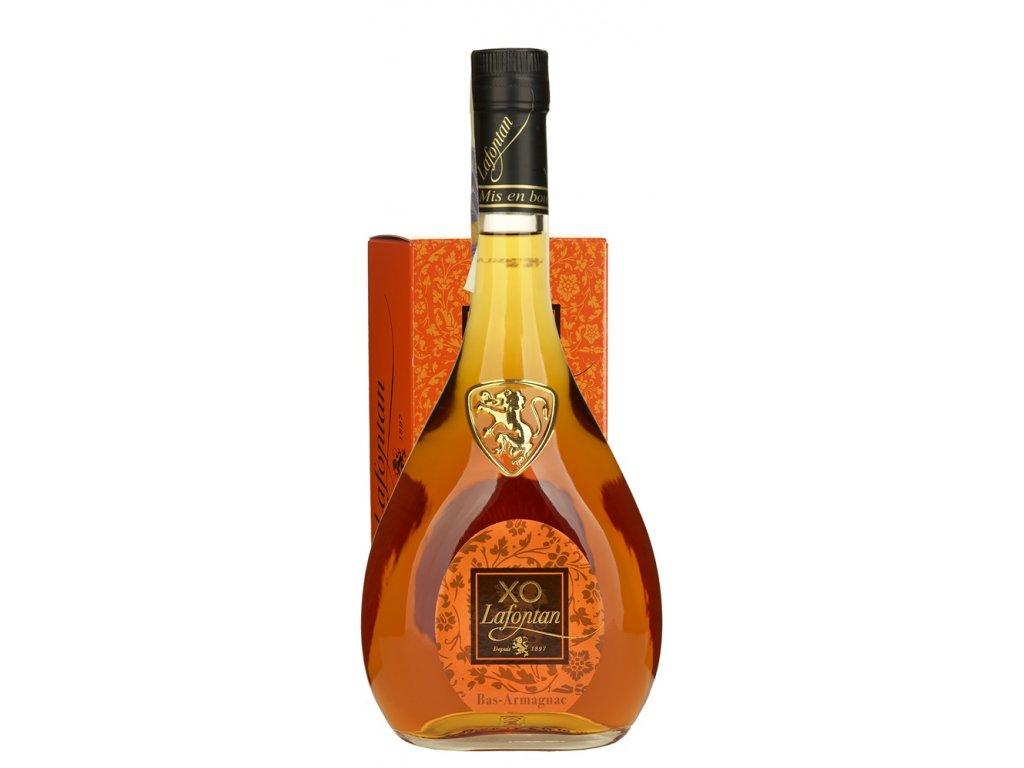 Lafontan Armagnac XO 40 % v dárkovém balení 0,7 l 40%
