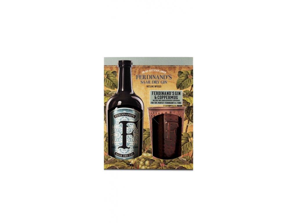 Ferdinand's Saar Dry Gin Cooper set