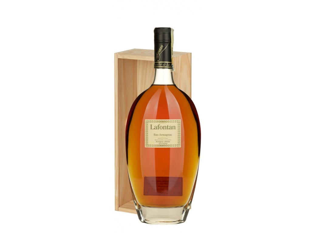 Lafontan Armagnac v dárkové krabičce 0,7 l 40% 1968
