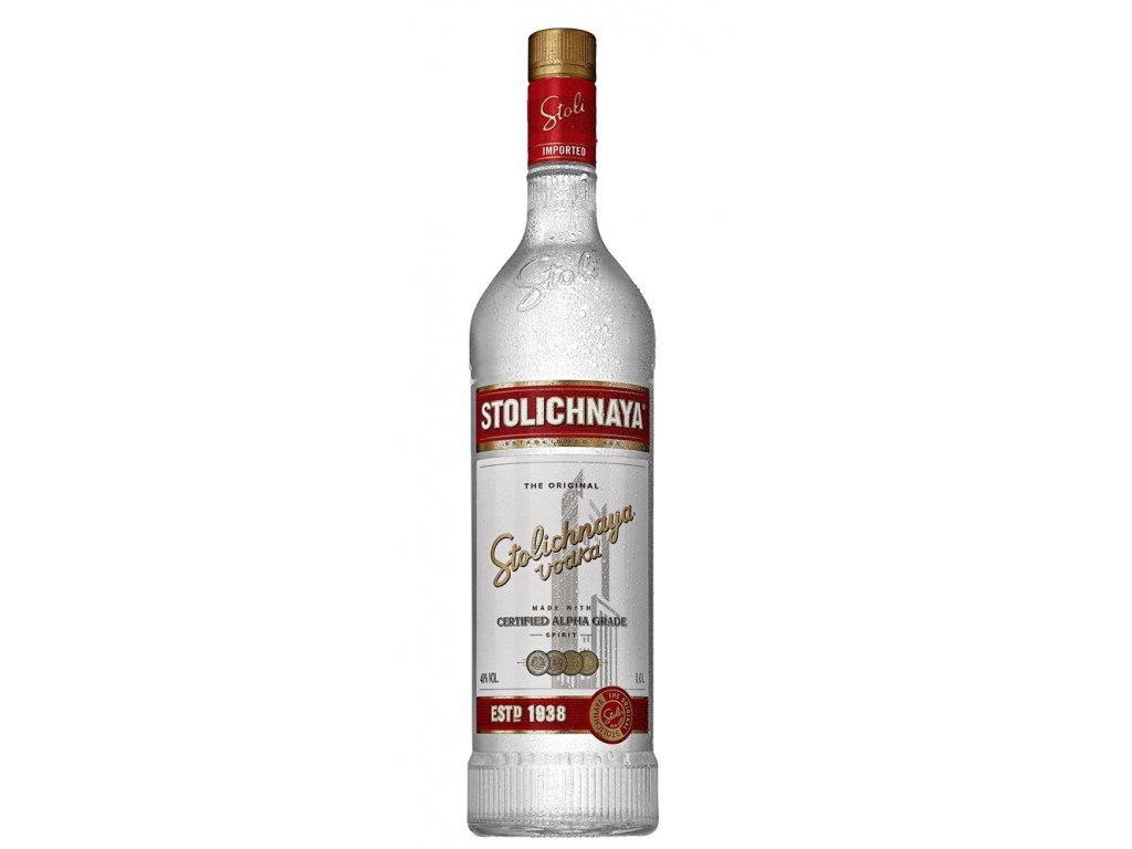 Stolichnaya Vodka Original  1 l 40%
