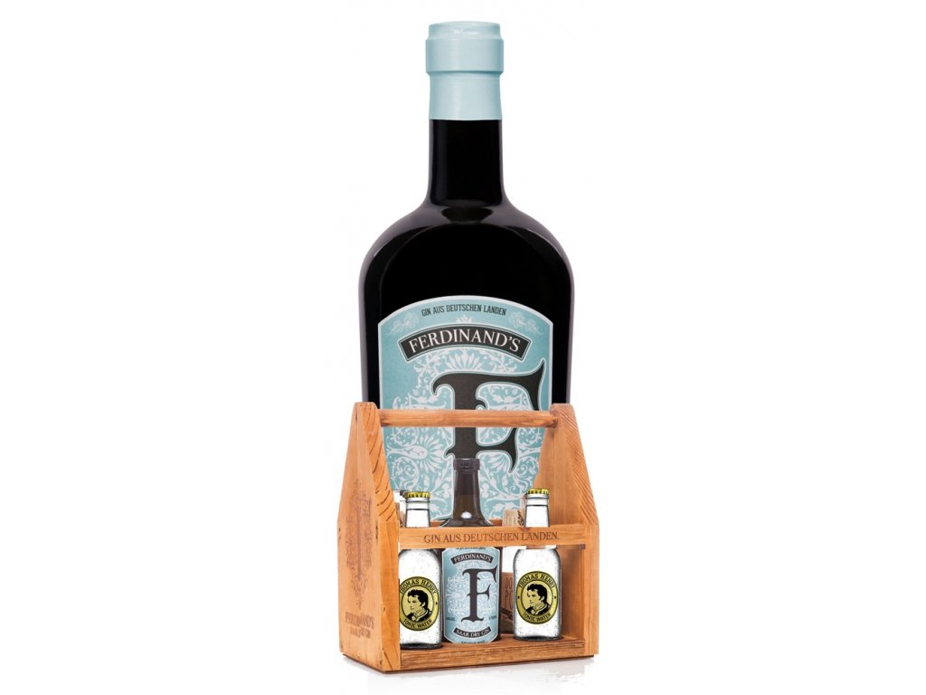 Ferdinand's Saar Dry Gin s odnoskou + 4x tonic