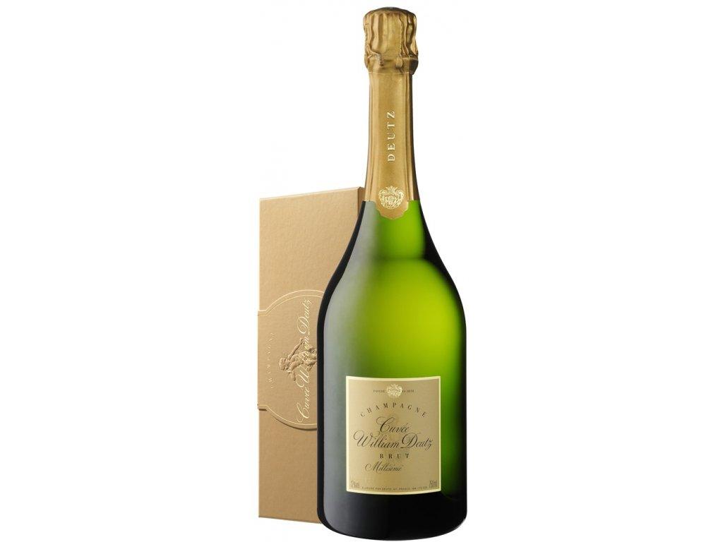 Champagne Deutz Cuvée de William Deutz v luxusní dárkové krabičce 0,75 l 12% 2006